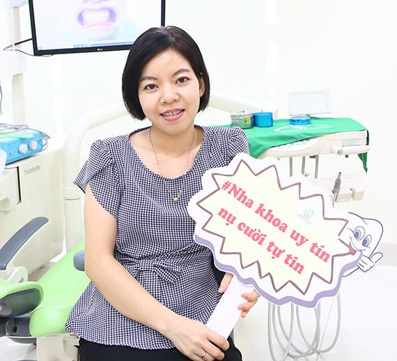 KH PHẠM HỒNG THÁI(RĂNG HÔ, KHẤP KHỂNH)  Kết quả sau 12 tháng niềng Răng